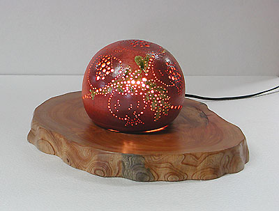 ランプシェード「柘榴」の写真