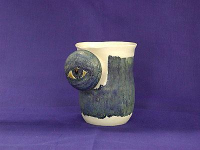 ノブビアマグカップ 眼見張りの写真