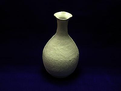 花瓶(白)の写真