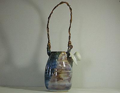 土瓶花入・オブジェの写真