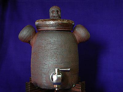 焼酎サーバー(髑髏蓋)RFの写真