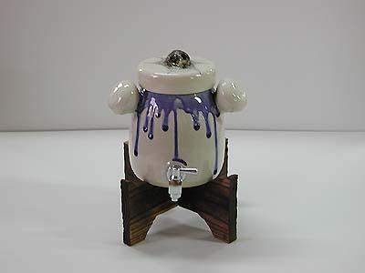 焼酎サーバー(髑髏蓋)の写真