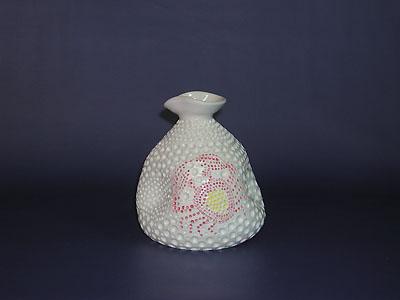 徳利(海綿・蟹)の写真