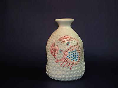 大徳利(海綿・蟹)の写真