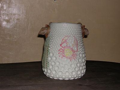 花入れ(海綿蟹)の写真