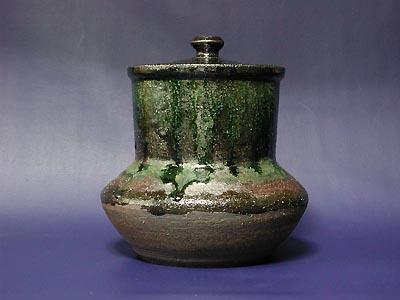 水指(織部)の写真