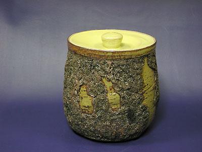 水指(松皮)の写真